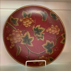 Grape Display Plate